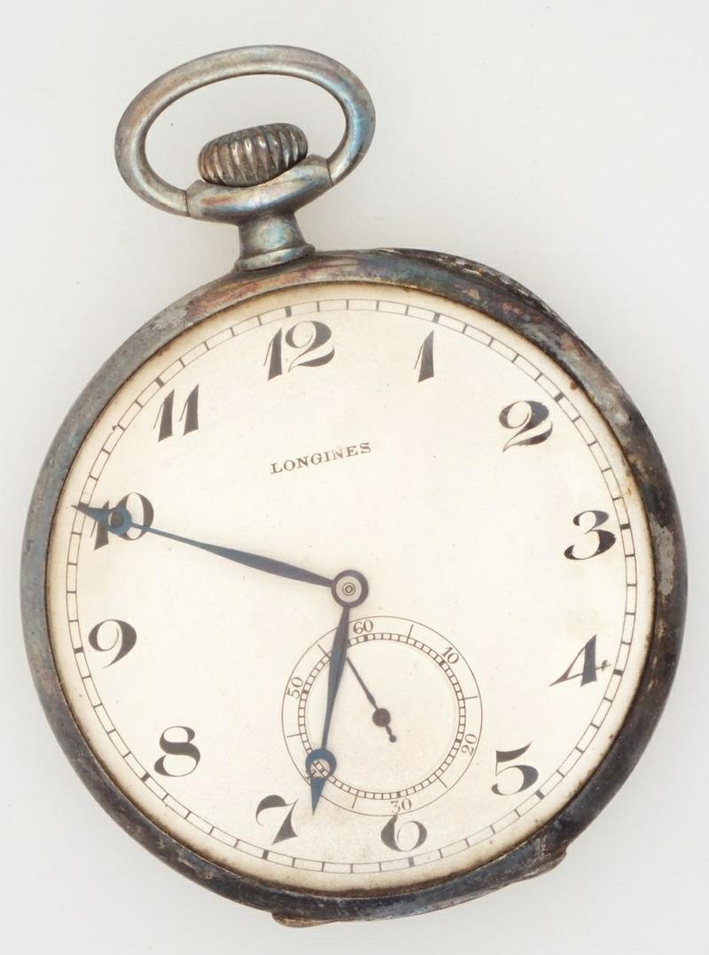 Reloj del campo de Neuengamme de Vicente Borjabad custodiado por el ITS alemán